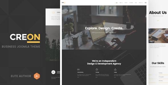 Creon - Business Joomla Template - Business Corporate