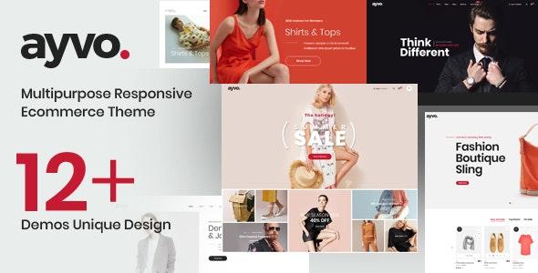 Ayvo - Fashion Multipurpose WordPress Theme - WooCommerce eCommerce