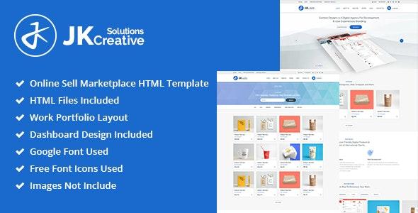 Portfolio - JK Creative Solutions HTML Template - Portfolio Creative