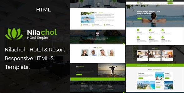 Nilachol | Hotel and Resort HTML5 Template - Travel Retail