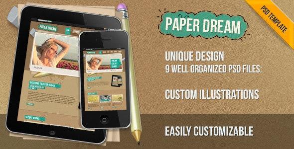 Paper Dream - Creative Photoshop
