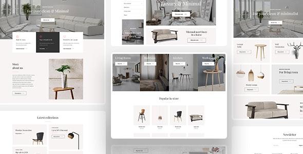 Leo Jessie - Clean Furniture Prestashop 1.7 Theme - Entertainment PrestaShop
