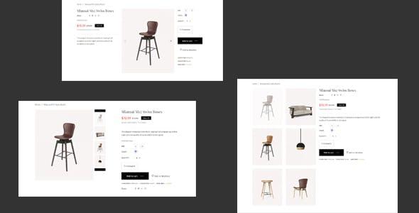 Leo Jessie - Clean Furniture Prestashop 1.7 Theme