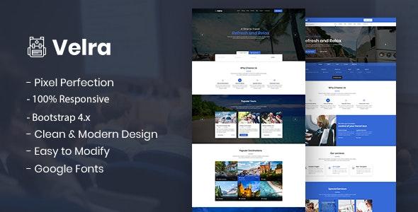 Velra - Travel Transport Business HTML Template - Travel Retail