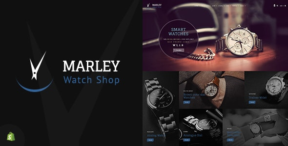 Marley | Sectioned Watch Shopify Theme - Shopify eCommerce