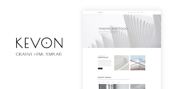 Kevon - Creative HTML Template - Portfolio Creative