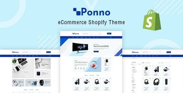 Electronics Shopify Theme - Ponno by codecarnival | ThemeForest