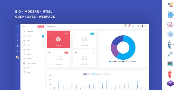 Boxify - Bootstrap 4 Admin Dashboard - Admin Templates Site Templates