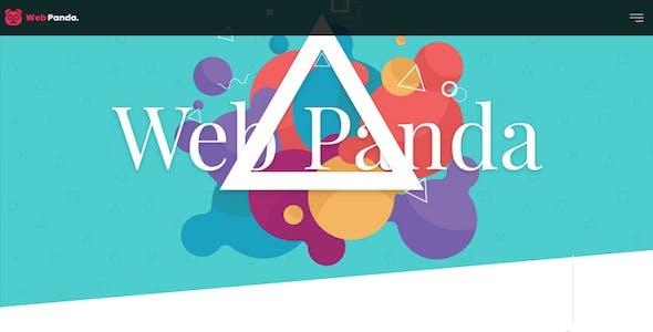 WebPanda - Bootstrap 4 Multipurpose Responsive HTML5 Template