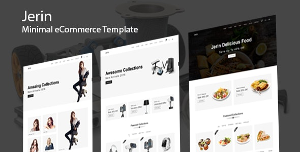 Jerin - Minimal eCommerce HTML Template - Shopping Retail