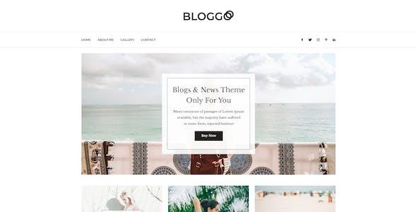 Bloggos - Multipurpose Blog PSD Template