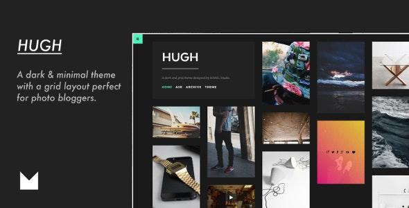 Hugh - Responsive Grid Theme - Portfolio Tumblr