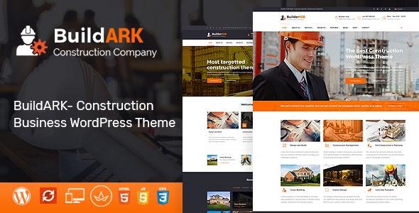 Buildark Construction Business WordPress Theme By