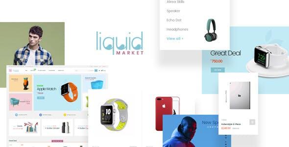 Leo Liquid - Multipurpose PrestaShop Theme for Supermarket