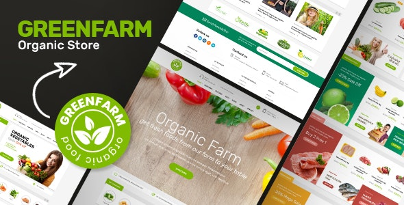 Greenfarm - Organic Theme for WooCommerce WordPress - WooCommerce eCommerce