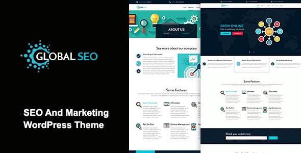 GLOBAL SEO - Marketing And Responsive WordPress Theme - Marketing Corporate