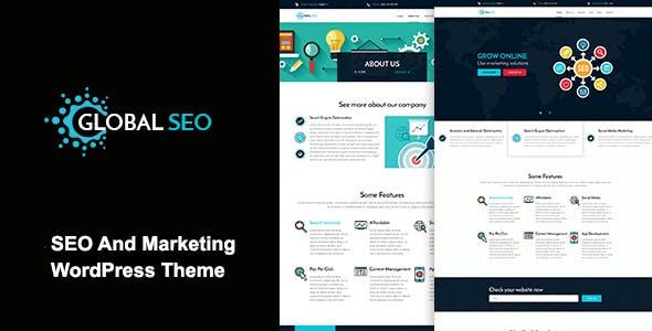 GLOBAL SEO - Marketing And Responsive WordPress Theme