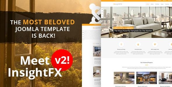 InsightFX - Multipurpose Joomla Template - Joomla CMS Themes
