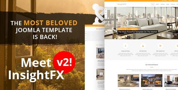 InsightFX - Multipurpose Joomla Template