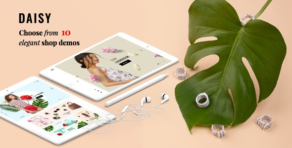 Daisy - Minimal Ecommerce Bootstrap 4 HTML Template - Shopping Retail