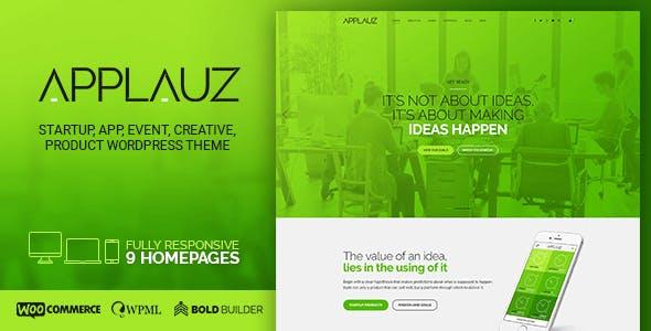 Applauz - Software, Technology, Startup & Digital Business