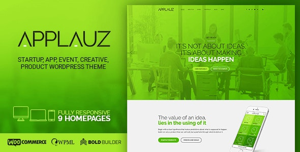 Applauz - Software, Technology & Digital - Technology WordPress