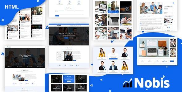 Nobis - Corporate Business HTML Template