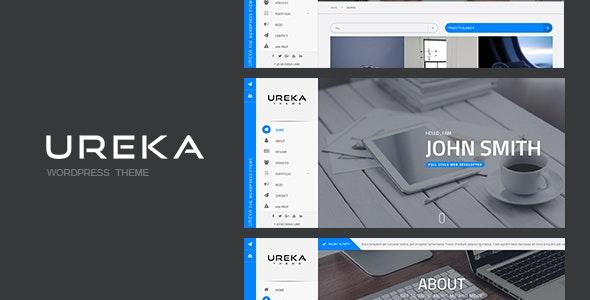 UREKA - Responsive Vcard WordPress theme - Portfolio Creative