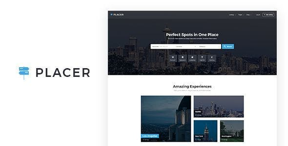 Plac - Geolocation & Directory Listing Template