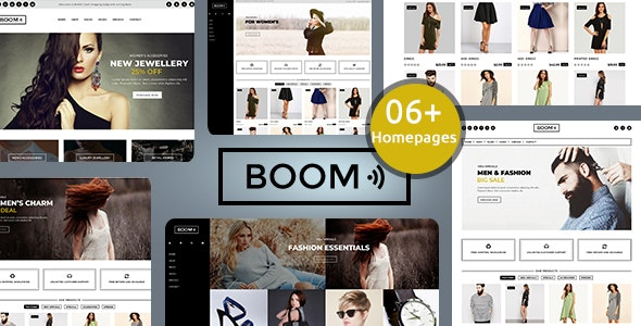 Boom - Fashion and accessories shopify theme - Fashion Shopify