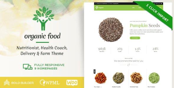 Organic Food - Nutritionist & Farm