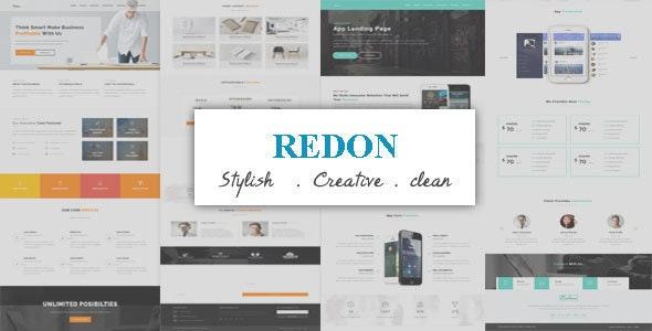 Redon - Multipurpose Landing Page WordPress Theme - Technology WordPress