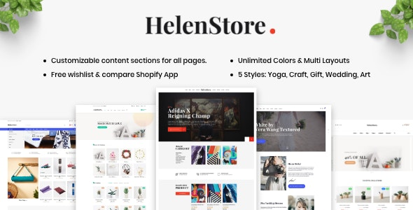 Art & Photography Shopify Theme - Helen - Fashion Shopify