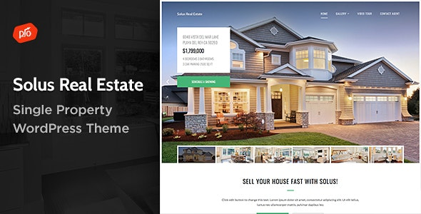 Solus - Single Property Theme - Real Estate WordPress