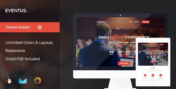 Eventus - Event/Conference Email Template - Email Templates Marketing