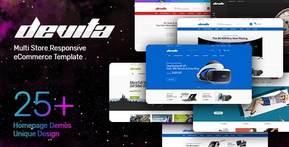 Multipurpose Responsive HTML Template - Devita - Shopping Retail