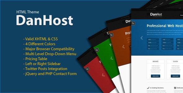 DanHost - Hosting Template - Hosting Technology