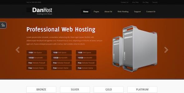 DanHost - Hosting Template