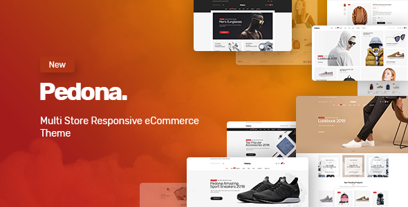 Pedona - Fashion & Sport Theme for WooCommerce WordPress - WooCommerce eCommerce
