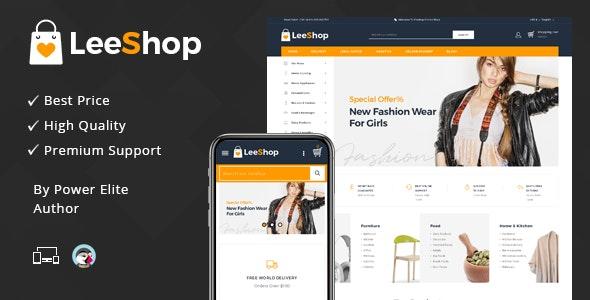 LeeShop Mega Store - Responsive Prestashop 1.7 Theme - Shopping PrestaShop