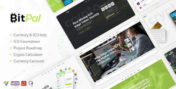 BitPal - Cryptocurrency WordPress Theme - Technology WordPress