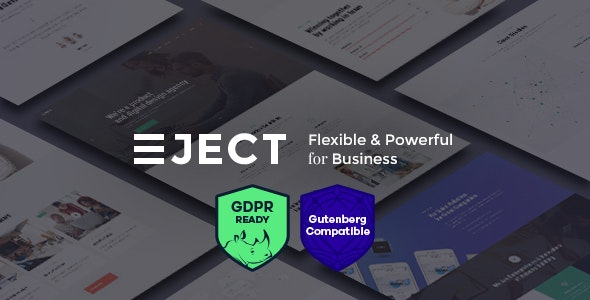 Eject | Web Studio & Creative Agency WordPress Theme - Business Corporate