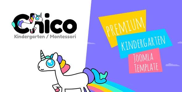 Chico - Premium Kindergarten and School Joomla Template