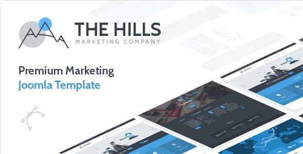 The Hills - Business Marketing Joomla Template
