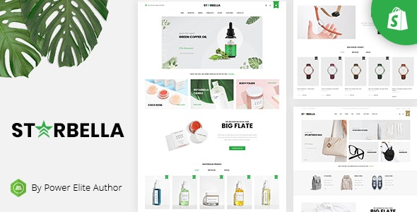 StarBella - Sectioned Multipurpose Shopify Theme - Shopping Shopify