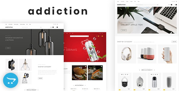 Addiction - Multipurpose OpenCart 3 Theme - Miscellaneous OpenCart