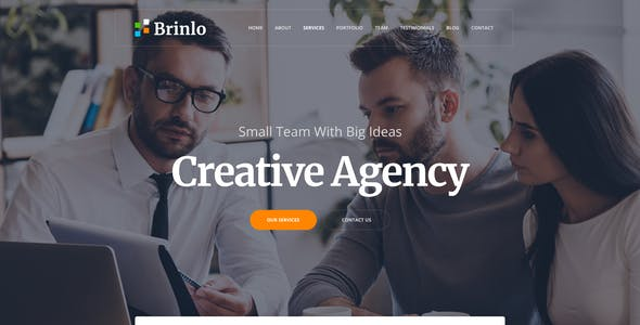 Brinlo- Creative Agency HTML Template