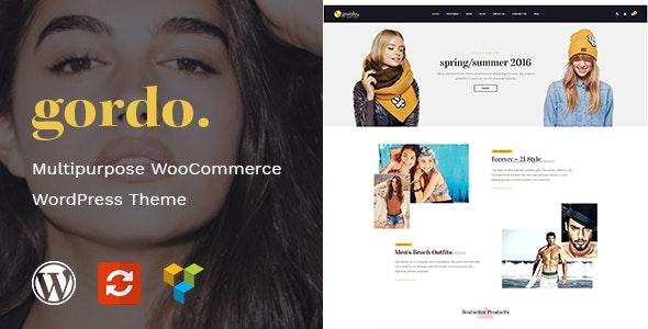 Gordo - Fashion Responsive WooCommerce WordPress Theme - WooCommerce eCommerce