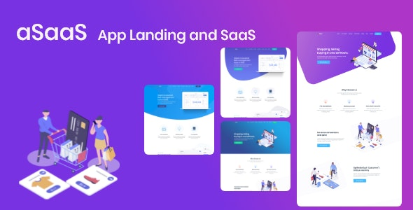 App Landing and SaaS - aSaaS - Software Technology