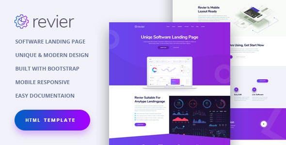 NioSoft - Unique Software Landing Page